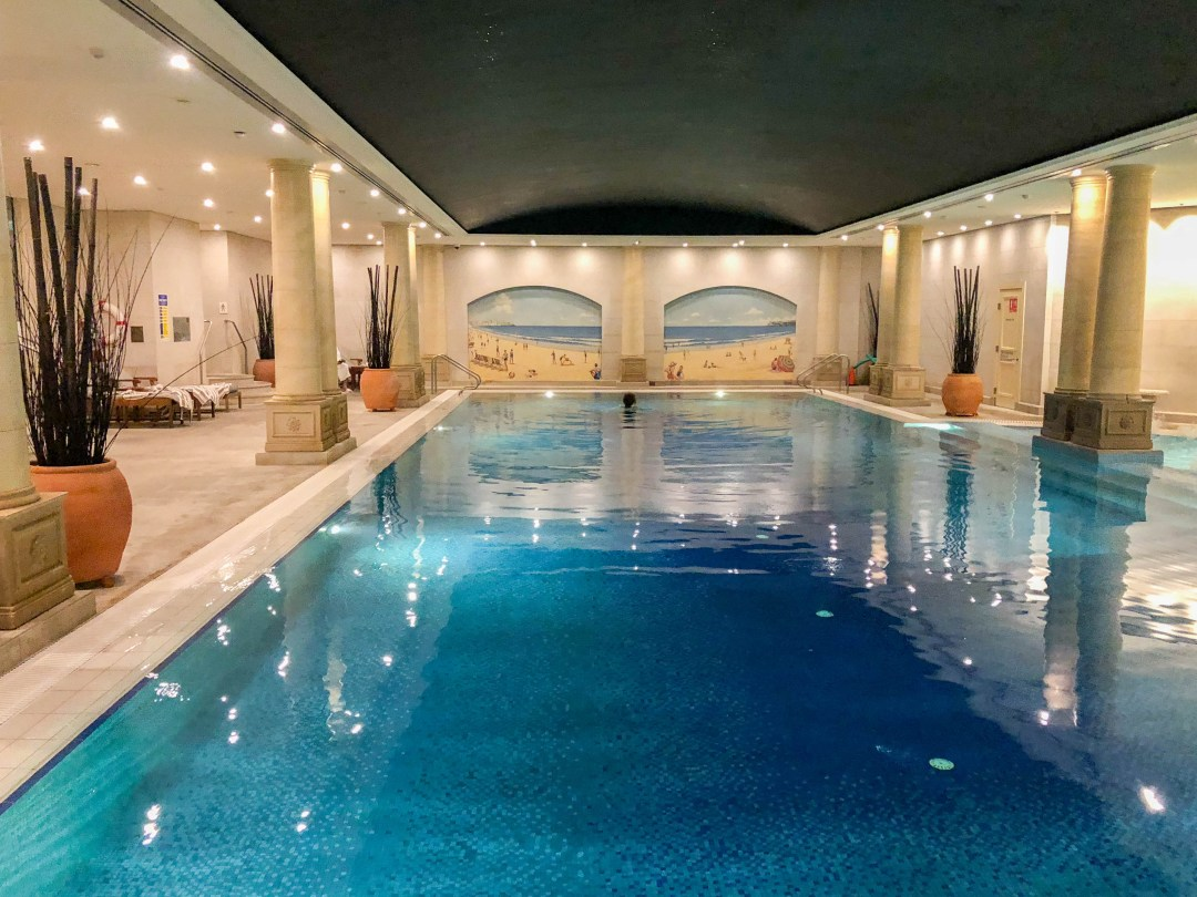 Indoor Pool at The Langham Sydney