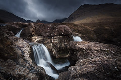Fairy Pools walk on the Isle of Skye in Scotland