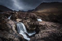 Fairy Pools walk on the Isle of Skye in Scotland