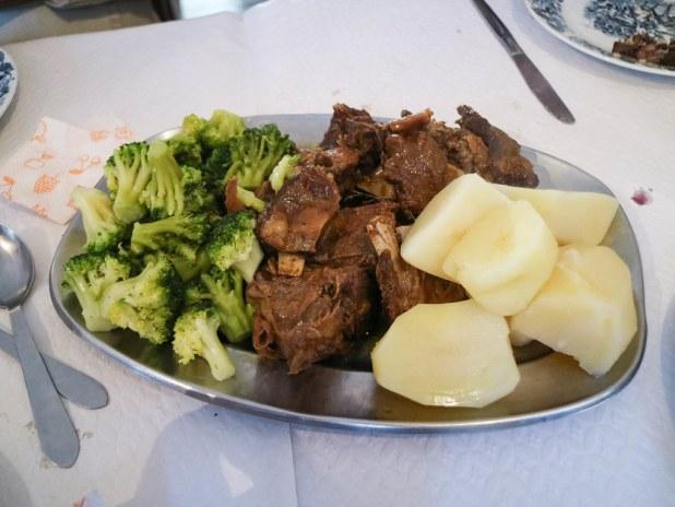 Comer en Piódão