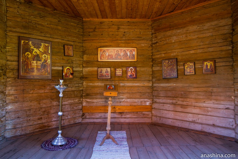 Часовня из деревни Бедрино Ковровского района, Музей деревянного зодчества, Суздаль