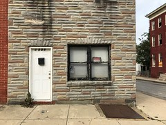 First floor and entrance, Rowhouse, 1238 Etting Street, Baltimore, MD 21217