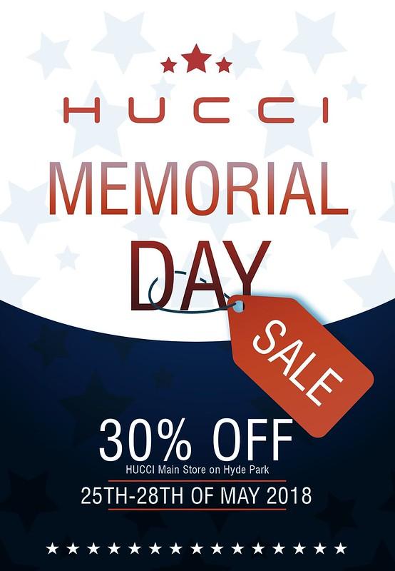 H U C C I Memorial Day Sale