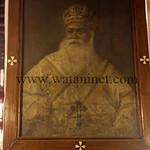 صورة البابا مكاريوس الثالث غالبا بكنيسة السيدة العذراء بحارة زويلة