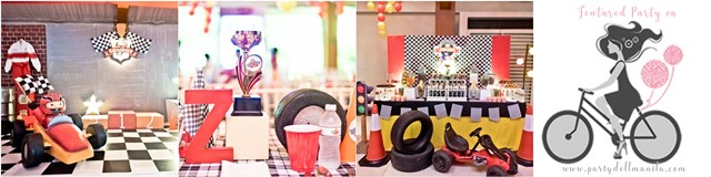 zandro race car theme party cover