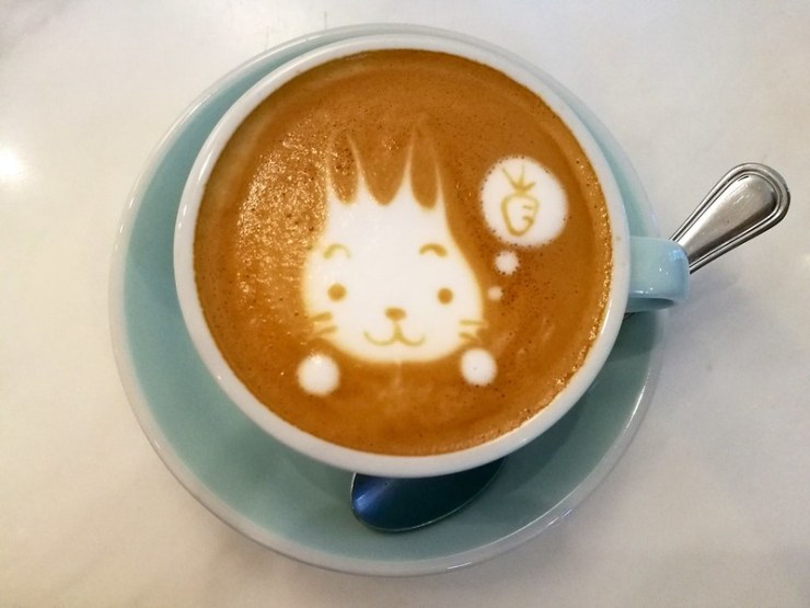 Latte Art | The Only Destructible Art