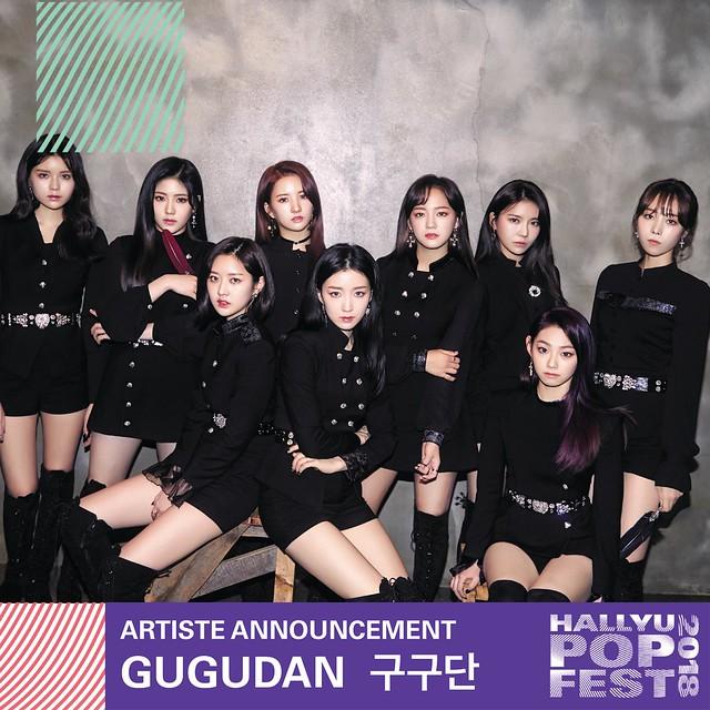 HallyuPopFest 2018 - GUGUDAN