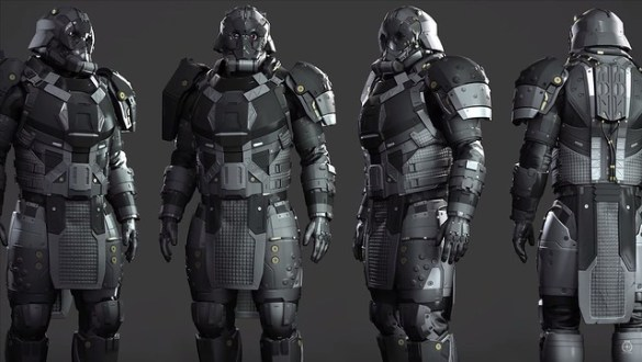 Star Citizen - Legacy Heavy Armor