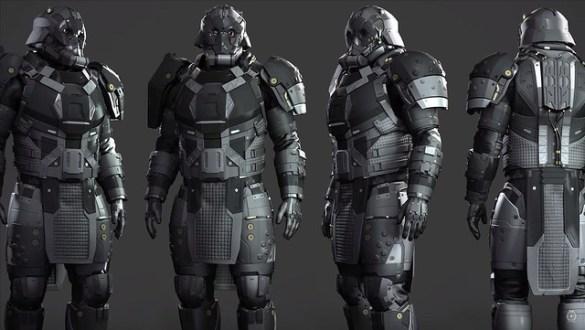 Star Citizen - Legacy Heavy Armor