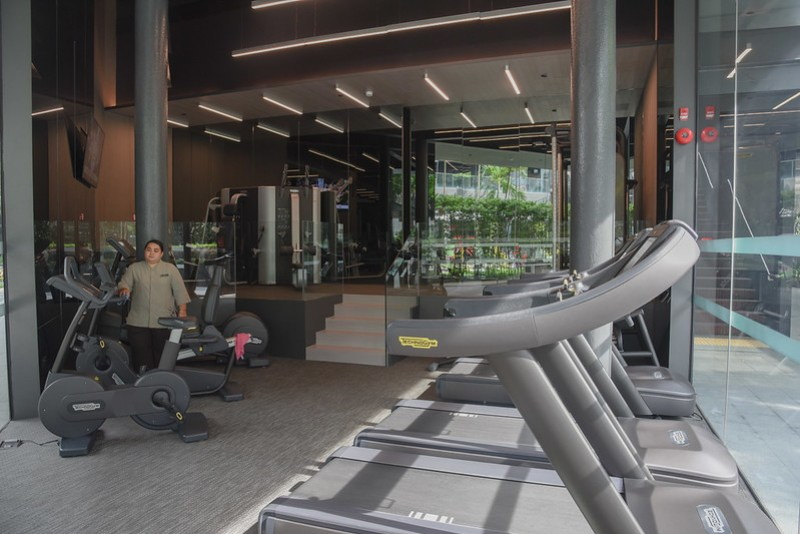 the gym - intercontinental singapore robertson quay