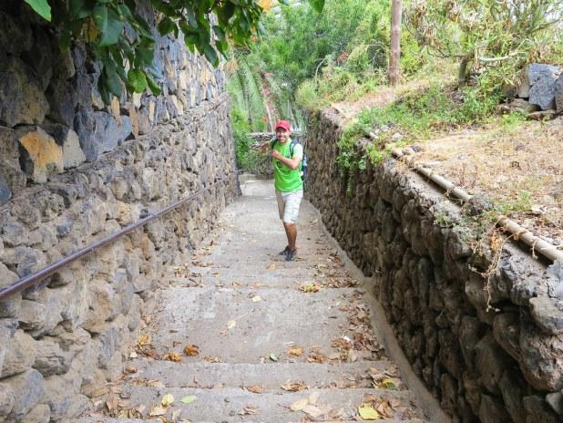 Caminando en el norte de Tenerife