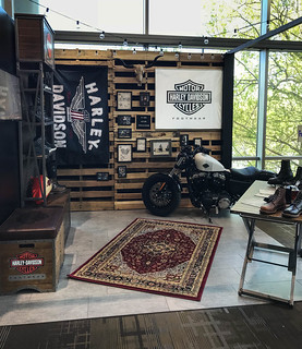 Harley Davidson Footwear Tradeshow Booth