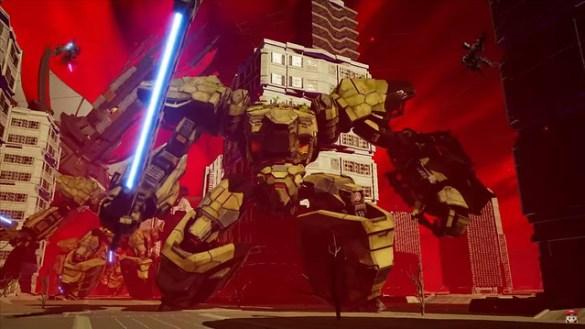 Daemon X Machina - Mechs Fighting Bigger Mechs