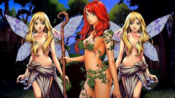 Loren The Amazon Princess - Poison Ivy