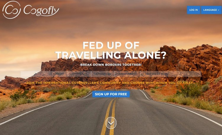Cogofly: Find #travel Friends