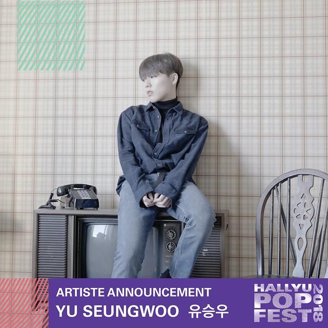 HallyuPopFest 2018 - YU SEUNGWOO