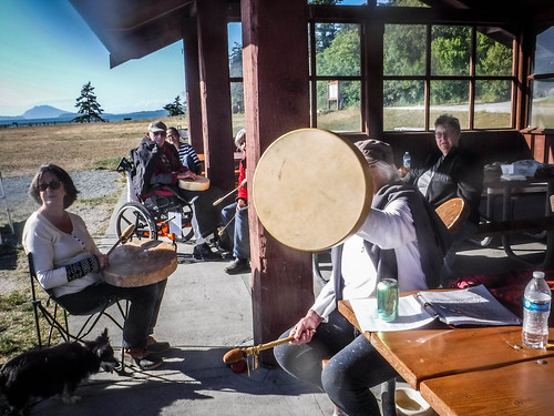 Drum Circle at Bayview State Park-002