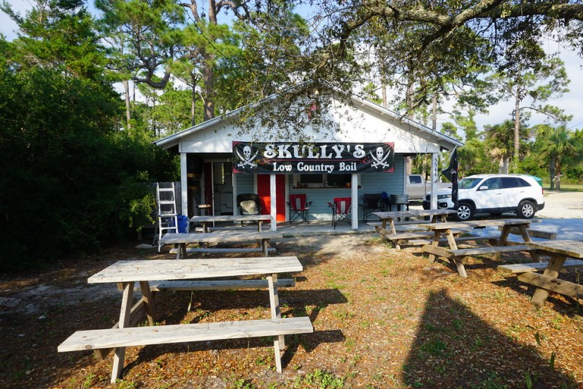 Skully's Low Country Boil Restaurant, Cape San Blas, Florida, May 18, 2018