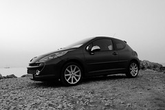 Peugeot207RC_N&B