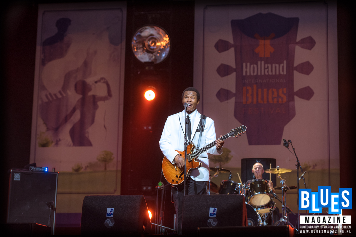King Solomon Hicks @ Holland International Blues Festival 2018 Grolloo