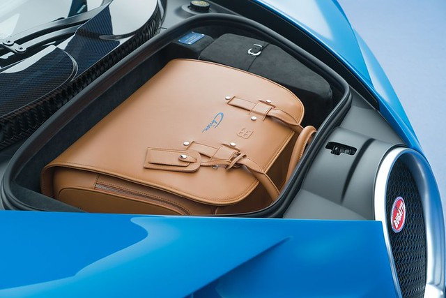2017 Bugatti Chiron - Luggage Compartment
