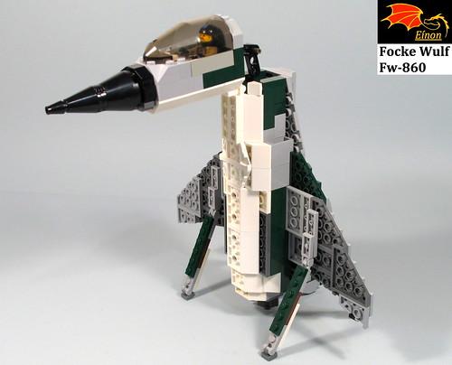 """Focke Wulf Fw-860 """"Penguin"""" X-Plane"""