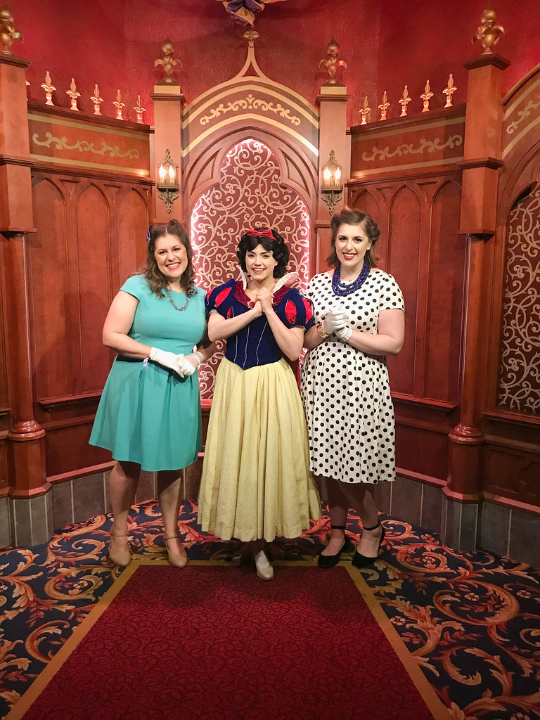 We met Snow White