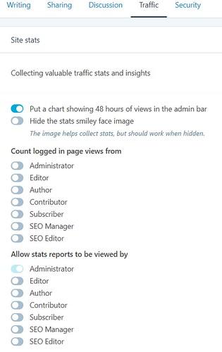 8 GDPR screenshot of plugin