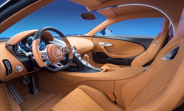 Bugatti Chiron inside