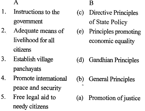ICSE Solutions for Class 7 History and Civics - Directive Principles of State Policy-1004