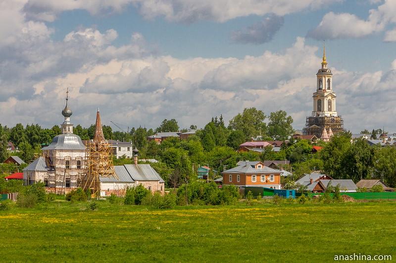 Панорама в сторону Ильинского луга