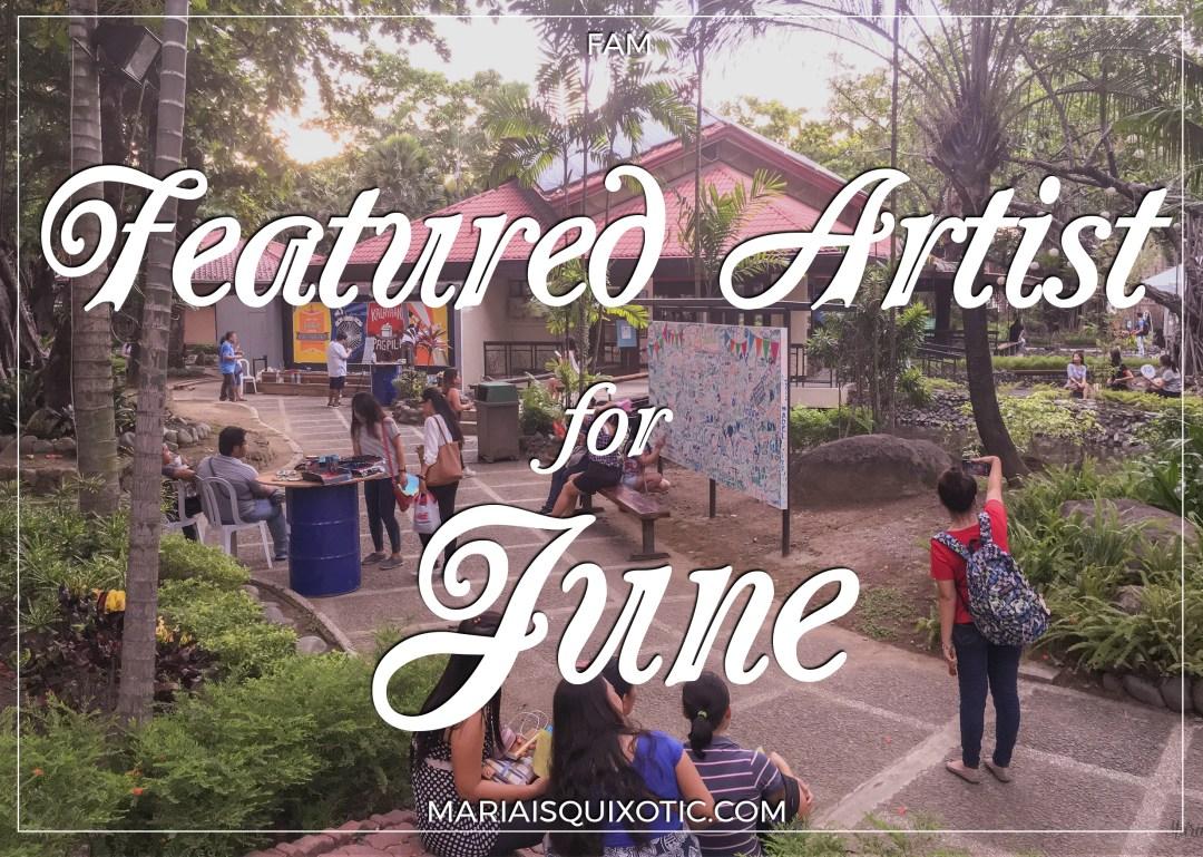 Featured Artist for June - Karla Rubio