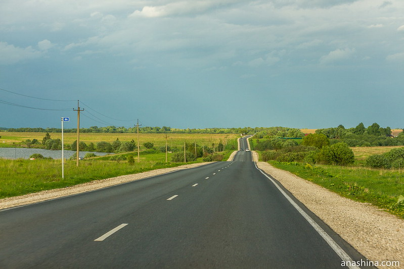 Дорога из Александрова в Кольчугино