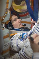 Alexander Gerst Soyuz MS-09 check