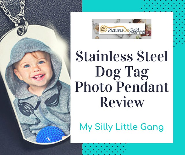 Stainless Steel Dog Tag Photo Pendant Review