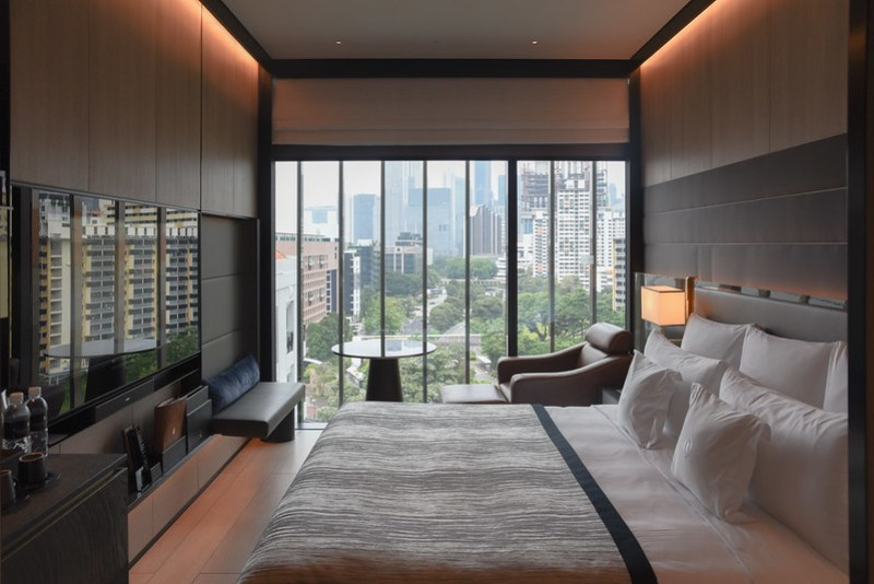 club riverview king room - intercontinental singapore robertson quay