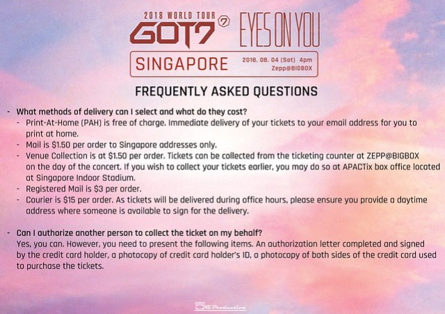 GOT7 'EYES ON YOU' WORLD TOUR IN SINGAPORE FAQ9