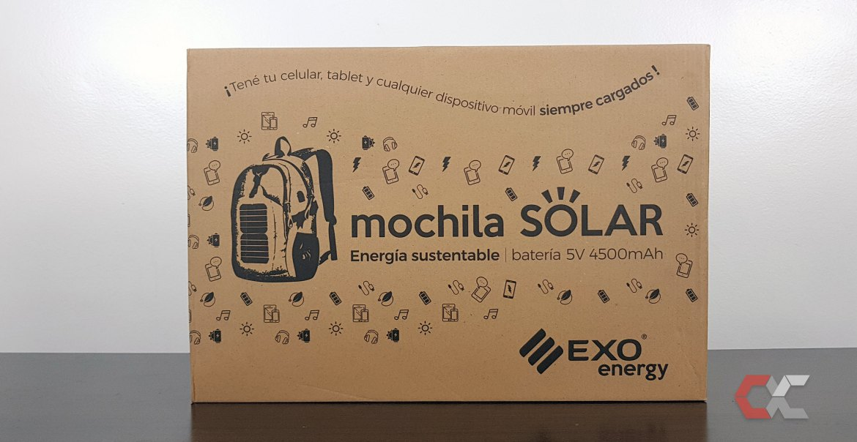 EXO Mochila Solar Energy