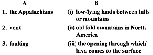 ICSE Solutions for Class 6 Geography Voyage - Major Landforms of the Earth 3