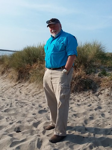 Tom at Bastendorf Beach, Coos Bay, Oregon