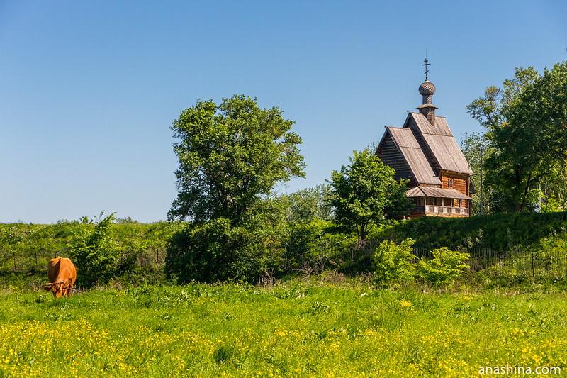 Никольская церковь из села Глотово Юрьев-Польского района, Суздаль