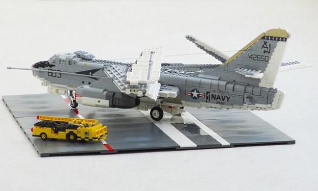 的A-3B Skywarrior VAH-6弗勒