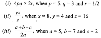 Selina ICSE Maths Class 6 Solutions-substitution-A-3