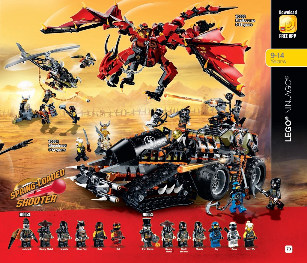 LEGO 2018 Summer Catalogue - Page 73