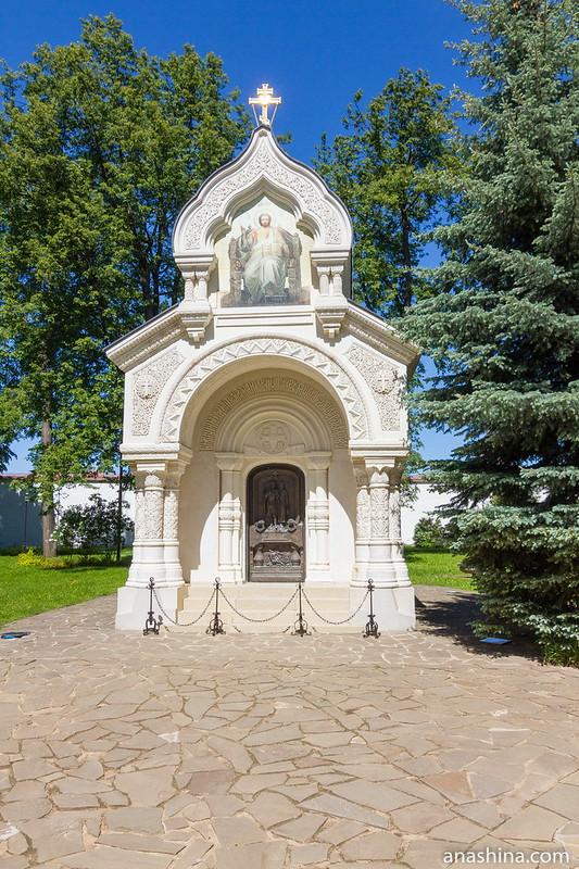 Мавзолей над могилой Дмитрия Пожарского, Спасо-Евфимиев монастырь, Суздаль