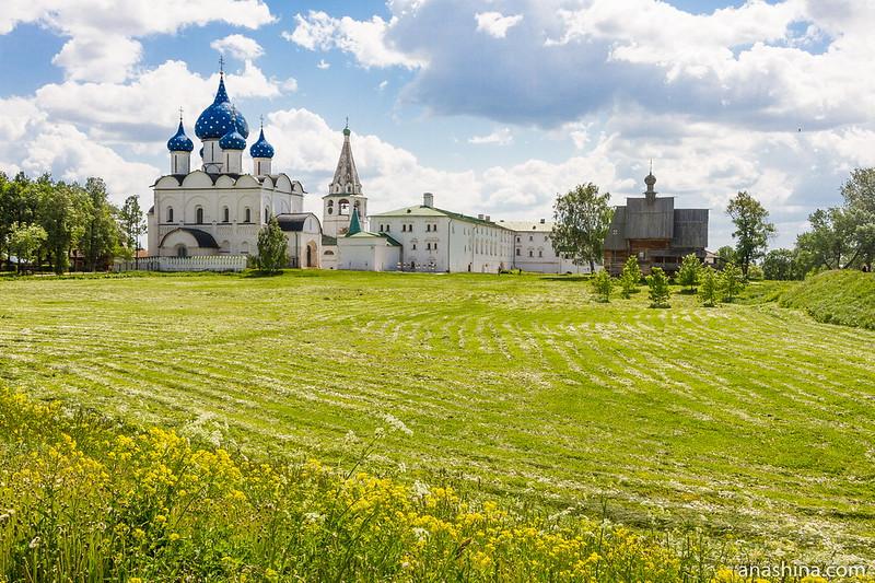 Ансамбль Суздальского кремля