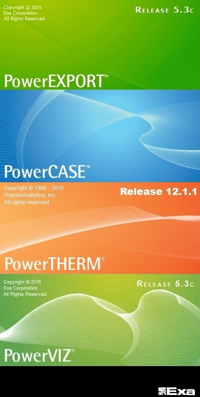 Exa PowerFLOW 5.3c Win32 win64 full license