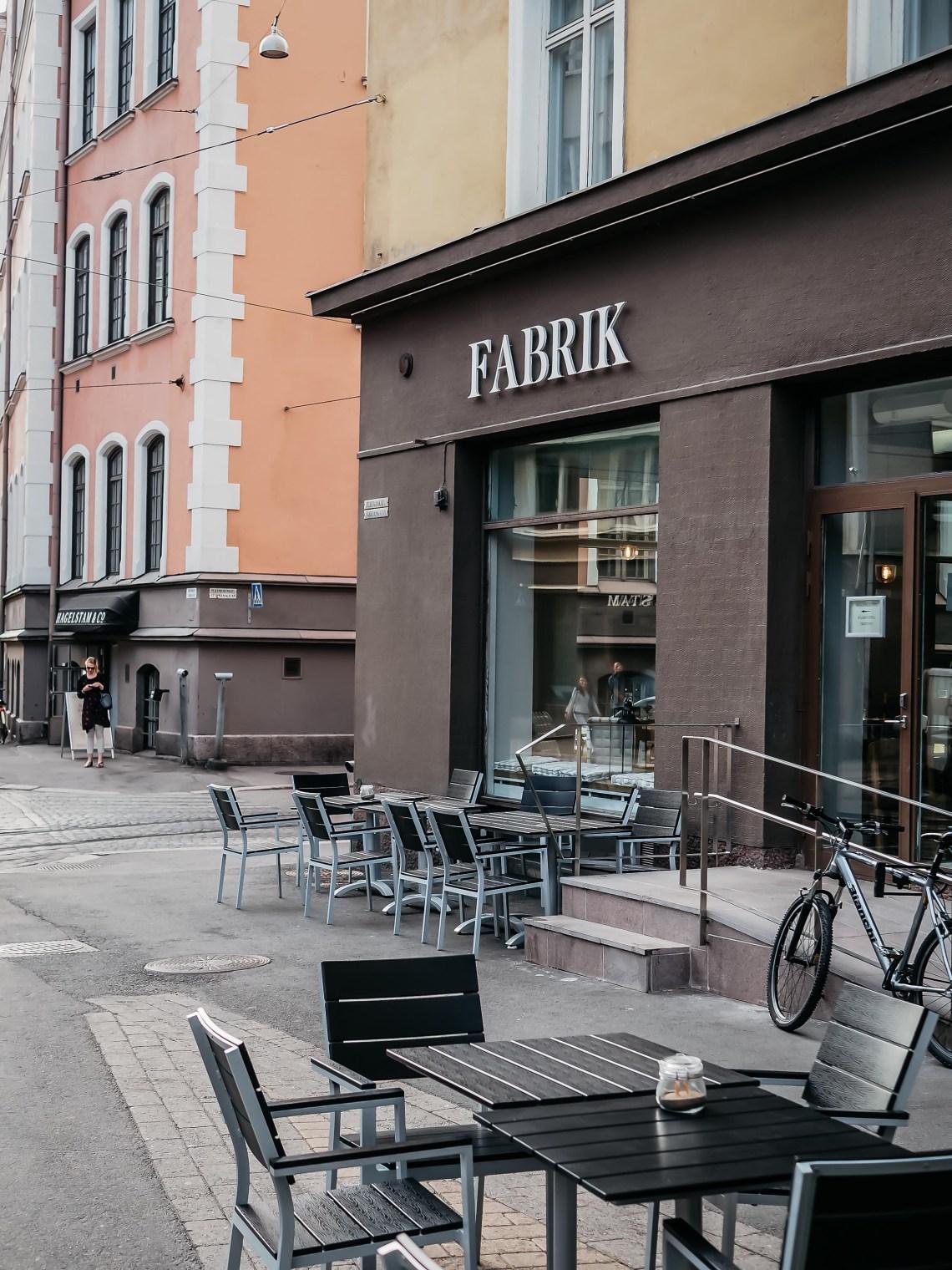 ravintola Fabrik