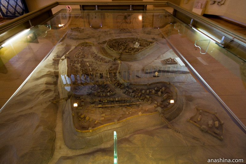 Макет Суздаля рубежа XII-XIII веков