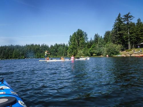 Paddling Lake Padden-027